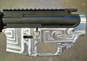 AR-15 Lower Machine Jig